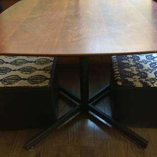 ヴィンテージ風 カフェ風 テーブルセット 追加記載