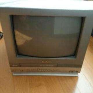 ブラウン管テレビデオ14型