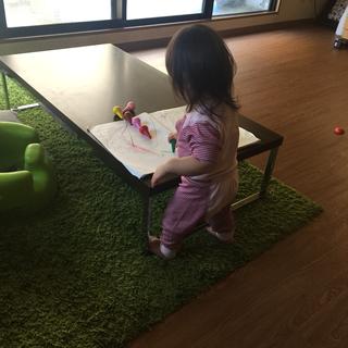 IKEA グリーンカーペット 商談中