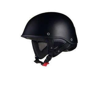 リード工業 バイクヘルメット ハーフ イーグルウィング マットブラ...