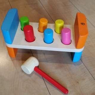 知育玩具 とんかちあそび