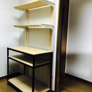【0円 無料】10/30(日)まで! 手作り家具 棚 収納棚 キャ...