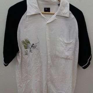 レーヨン 半袖シャツ