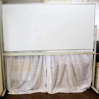 【取引中です】両面ホワイトボード  1800×900