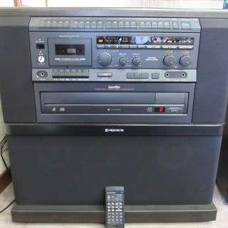 パイオニア カラオケシステム DVD LD