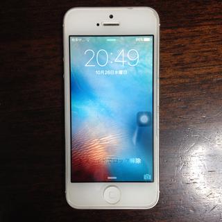 iPhone5 32gb simフリー