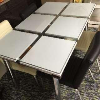 美品!最終値下げ。大人気のフレスコダイニングテーブルセット。
