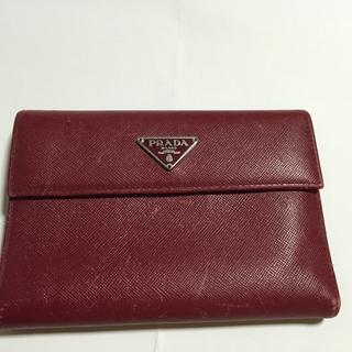 激安❗️本物 プラダ 3つ折り 財布