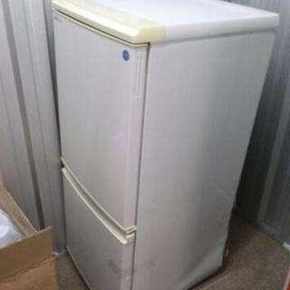 シャープ2段冷蔵庫135L、2008年製