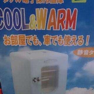 格安、車でも家でも使える新品温冷ボックス
