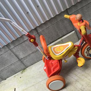 【値下げ中】アンパンマン 三輪車 折りたたみ