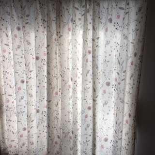 カーテン200×100 2枚