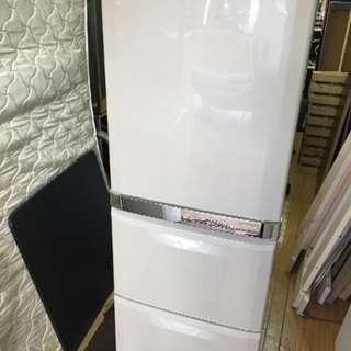 2005年 三菱 330L 冷凍冷蔵庫 自動製氷機能つき