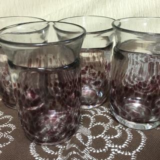 ガラス コップ 4個