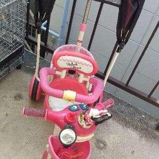 ミニーの三輪車
