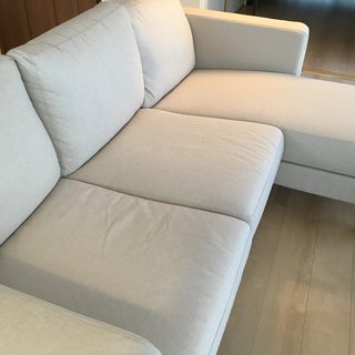 IKEA KARLSTAD ソファー 寝椅子付き