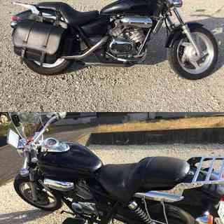 HONDA MAGNA 250 黒