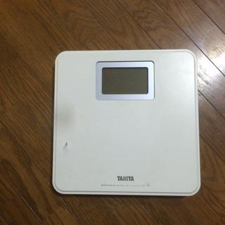 タニタデジタル体重計