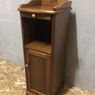 木製電話台♪レトロ