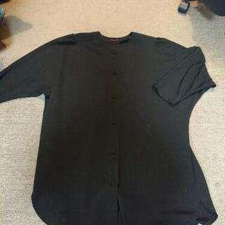 ビッグシルエット ブラックジャケット