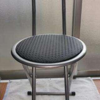 最終値下配達有り美品折り畳みパイプ椅子