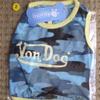 犬Tシャツ1~3号サイズ