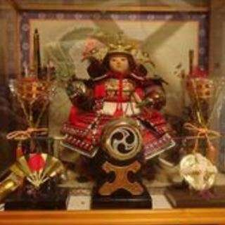 JAPANESE DOLL ( MUSHA DOLL ) 五月人形...
