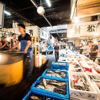 【大量採用 夜勤】  築地市場内での魚ピッキング作業(魚の詰め合わせ)の画像
