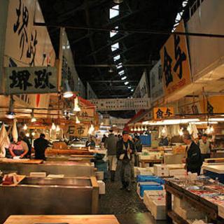 【大量採用 夜勤】  築地市場内での魚ピッキング作業(魚の詰め合わせ) − 東京都