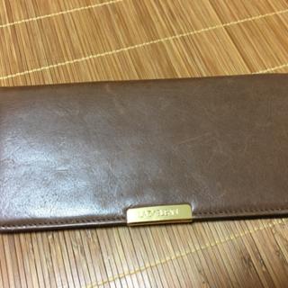 財布★こげ茶★革製品
