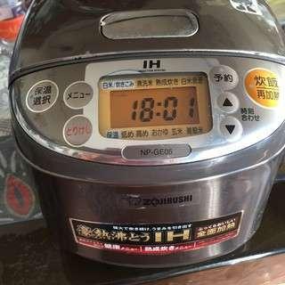 象印 炊飯器 三合  NP-GE05