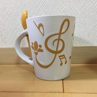 スプーン付きマグカップ【新品】