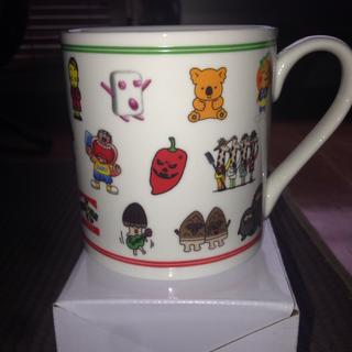◉マグカップ キャラクター大集合マグカップ 非売品、新品未使用品