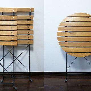 折り畳みガーデンテーブルセット