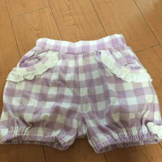女の子用かぼちゃパンツ♡80サイズ♡
