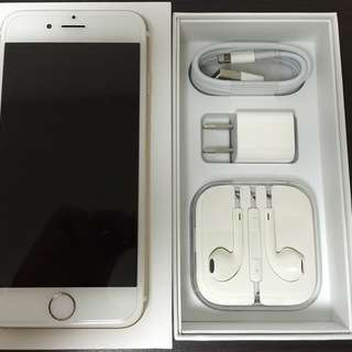 【中古美品】iphone6 16GB ゴールド(ソフトバンク)
