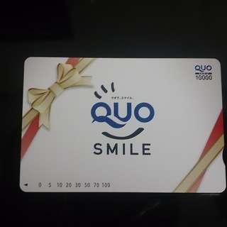 【未使用】QUOカード1万円分