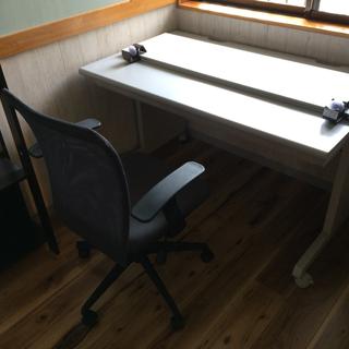 【値下げ】事務机&椅子&間仕切板