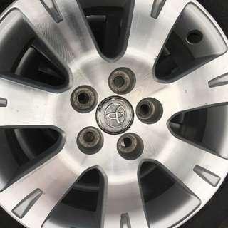 トヨタ純正ホイール16インチ4本セット