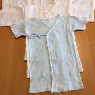 [取り置き]新生児から使える短肌着セット