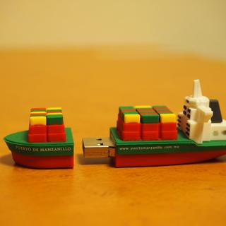コンテナ船型USB 未使用品