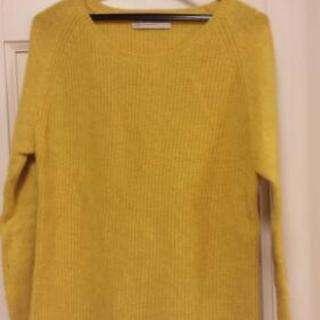 春に! セーター黄色 UNITED ARROWS フリーサイズ