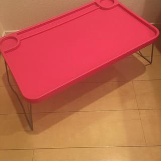 IKEA ミニテーブル ピンク