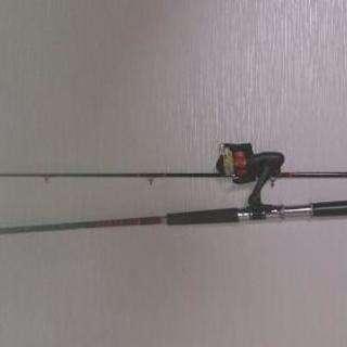 釣竿とリール!値下げしました。