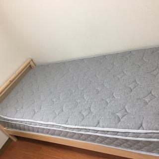 ニトリ シングルベッドフレーム&マットレス