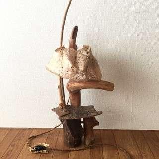 流木ランプ(職人手作り)