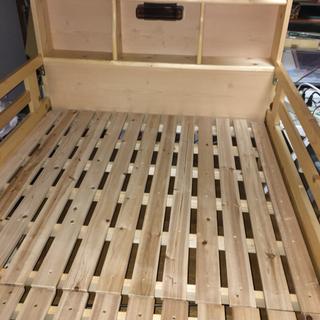 組み立て式二段ベッド+はしご