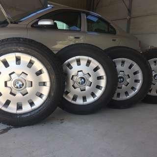 BMW 3シリーズ E46 純正 ブリザック 195/65R15 ...