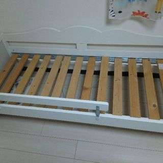 IKEA キッズ用ベット(ホワイト)