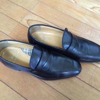 バーバリーの 紳士靴 中古る
